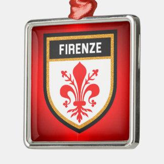 Firenze Flag Metal Ornament
