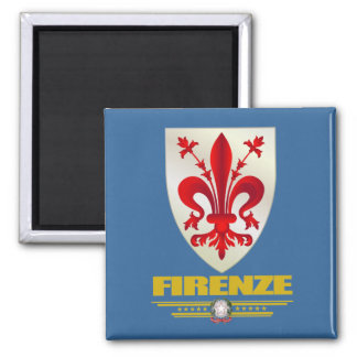 Firenze (Florence) 2 Inch Square Magnet