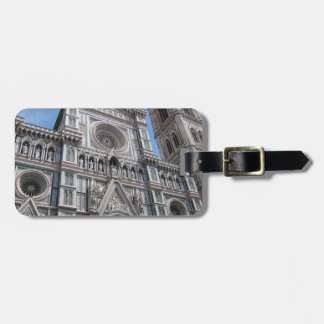 Firenze Florence Cathedral Facade Bag Tag