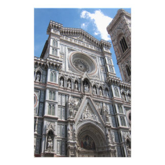Firenze Florence Cathedral Facade Stationery