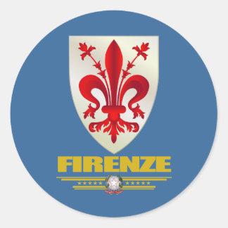 Firenze (Florence) Classic Round Sticker