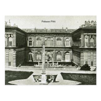 Firenze,Florence,Palazzo Pitti Postcard
