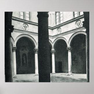 Firenze, Florencia, Palazzo Medici Riccardi Impresiones