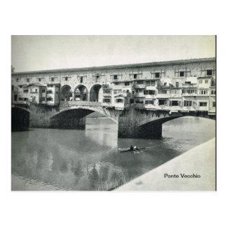 Firenze, Florencia, Ponte Vecchio Tarjetas Postales