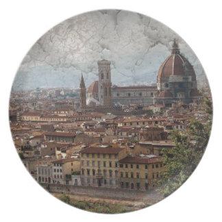 Firenze II Party Plates