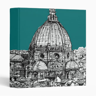 Firenze in turquoise binder