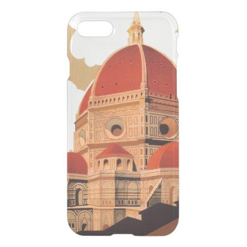 Firenze iPhone 7 Clear Case