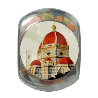 Firenze Jelly Belly Candy Jar