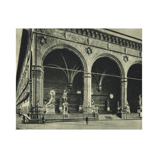 Firenze,Loggia dei Lanzi Canvas Print