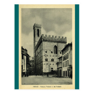 Firenze Palazzio Pretorio Postal