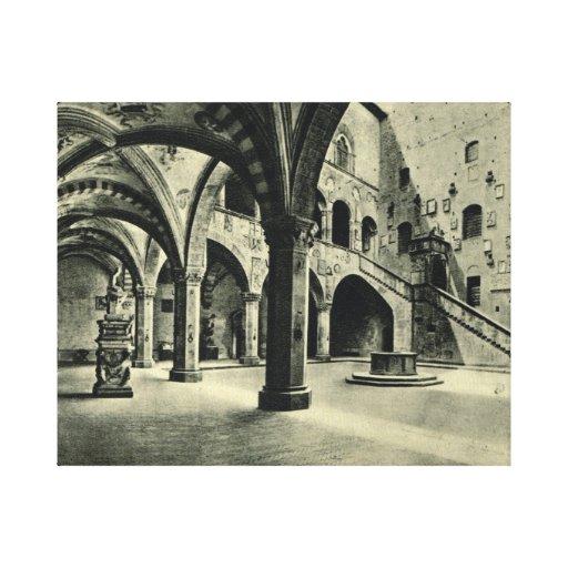 Firenze, Palazzo Podesia Lona Envuelta Para Galerias