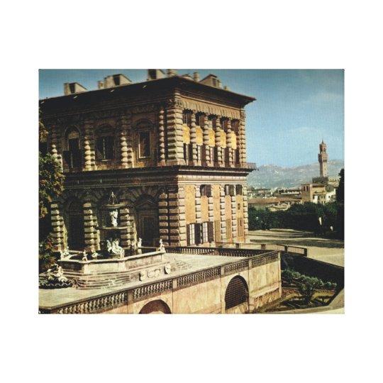 Firenze, Palzzo Pitti Canvas Print