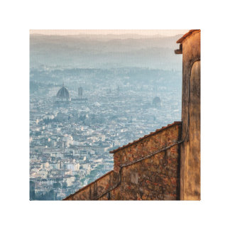Firenze panoramic view canvas print