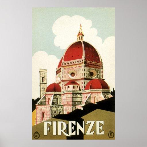 Firenze Póster