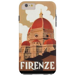 Firenze Poster iPhone 6/6S Plus Tough Case Tough iPhone 6 Plus Case
