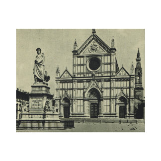 Firenze, S.Croce Canvas Print