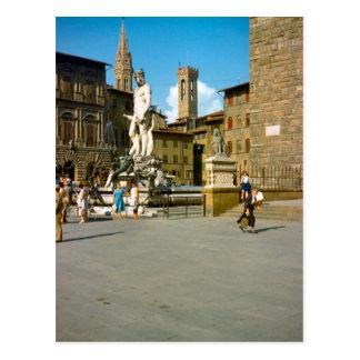 Firenze, Statue of David by Michelangelo Postcard