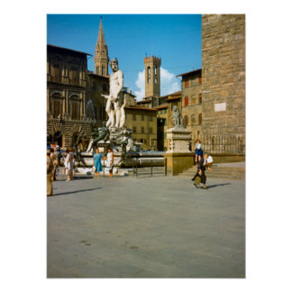 Firenze, Statue of David, Michelangelo Poster