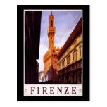 Firenze Tarjeta Postal