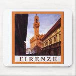 Firenze ~ Vintage Italian Travel Mousepad