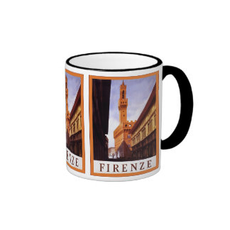 Firenze ~ Vintage Italian Travel Coffee Mugs