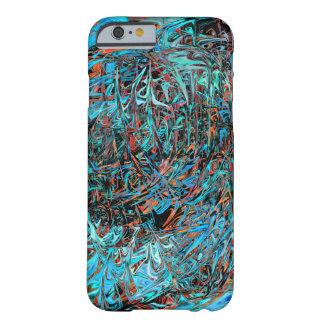 firepattern|psychedelic||Art|cool|Hippie|spacy Barely There iPhone 6 Case