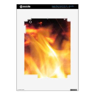 Firepit iPad 3 Skins
