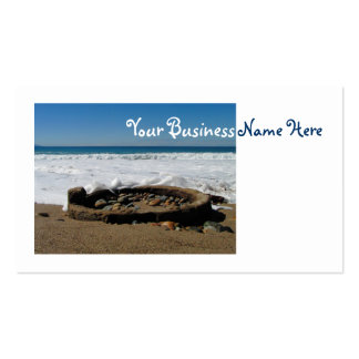 Firepit on the Beach Business Card
