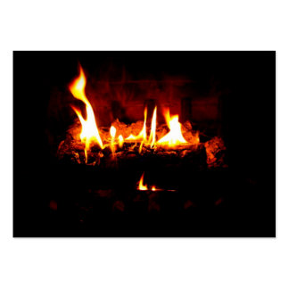 Fireplace Business Card