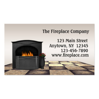 Fireplace Business Cards