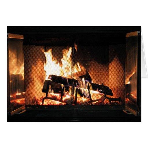Fireplace Card