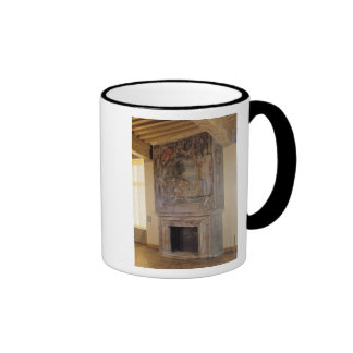 Fireplace in the Chambre du Roi Coffee Mug