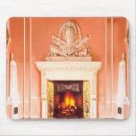 Fireplace Mousepad
