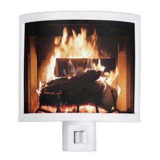 Fireplace Night Light