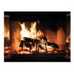 Fireplace Postcard
