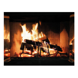 Fireplace Postcard