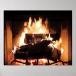 """Fireplace Poster<br><div class=""""desc"""">Fireplace</div>"""