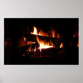 Fireplace Print