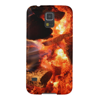 Fireplace Smoldering Embers Galaxy S5 Cover