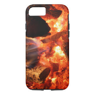 Fireplace Smoldering Embers iPhone 7 Case