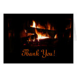 Fireplace Thank You Card