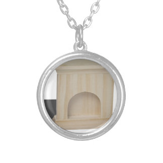 FireplaceHatchetLogs101115.png Silver Plated Necklace