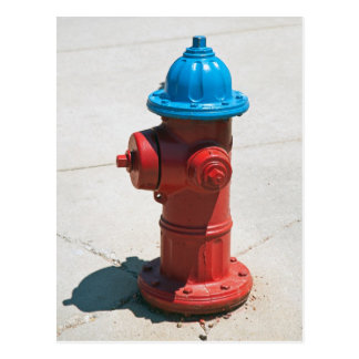 FIREPLUG POSTCARD