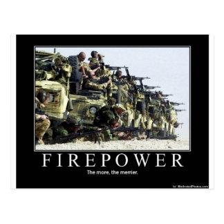 Firepower Postcard