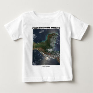 Fires In Central America (Picture Earth Satellite) T-shirt