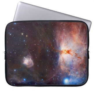 Fires of the Flame Nebula - in Orion Laptop Sleeve