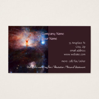 Fires of the Flame Nebula - NGC 2024 in Orion Business Card