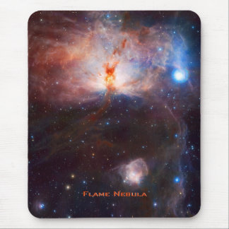 Fires of the Flame Nebula - NGC 2024 in Orion Mouse Pad