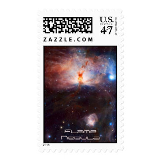 Fires of the Flame Nebula - NGC 2024 in Orion Postage Stamp
