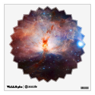 Fires of the Flame Nebula - NGC 2024 in Orion Wall Decal